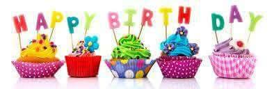 Congratulations! HAPPY! BIRTHDAY! Cher! Sweeet! Way! Cool! Aaaaay!