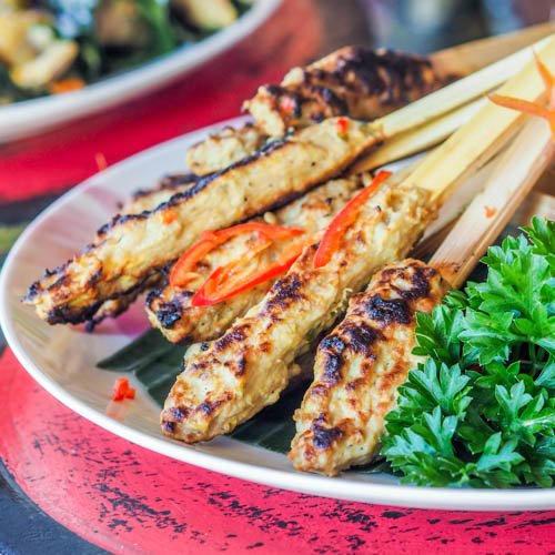 Grilled Fish Skewers Recipe