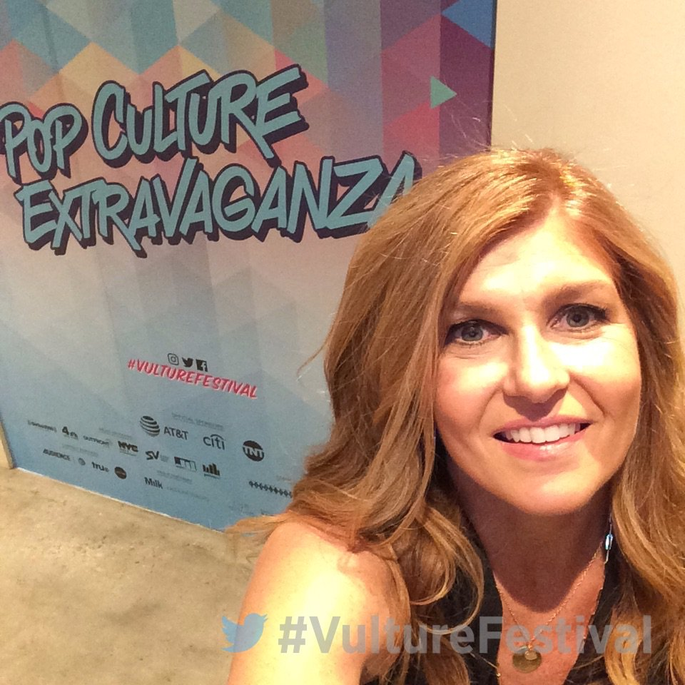 Backstage at #VultureFestival with @conniebritton