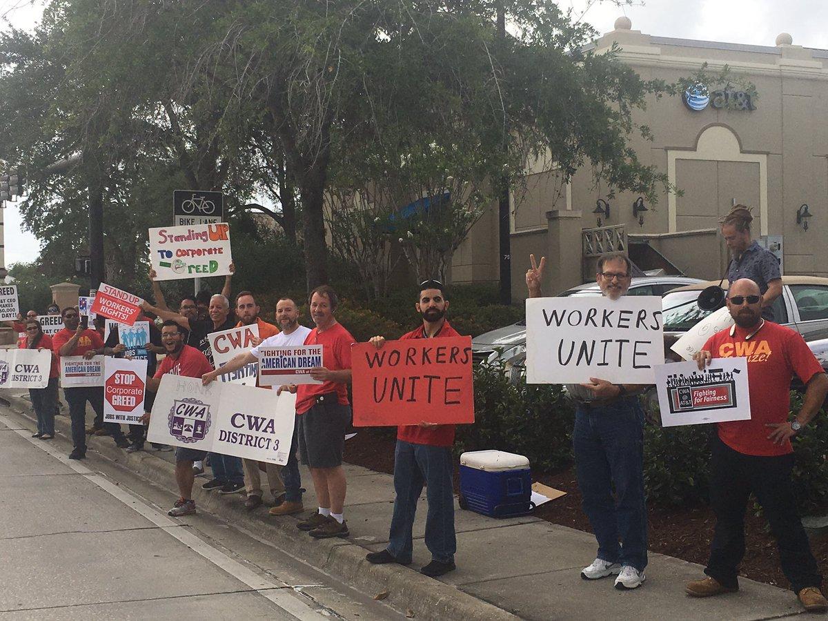 Solidarity Action at the Winter Park FL...