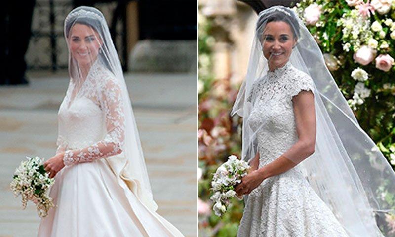 Pippa Middleton Kate En Qué Parece El Vestido Novia Pippa