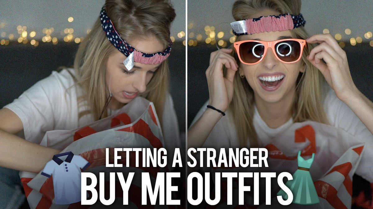 NEW VIDEO!!! MY POSTMATES BUYS ME OUTFITS >>> youtube.com/watch?v=JGFW8w… Go check it out & give it a THUMBS UP :)