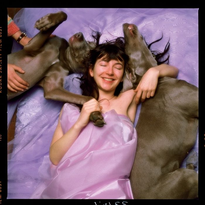 outtake & healing image of Kate Bush & her dogs Bonnie & Clyde from the Hounds of Love cover shoot, 1985 https://t.co/Ay5L9BNmT5
