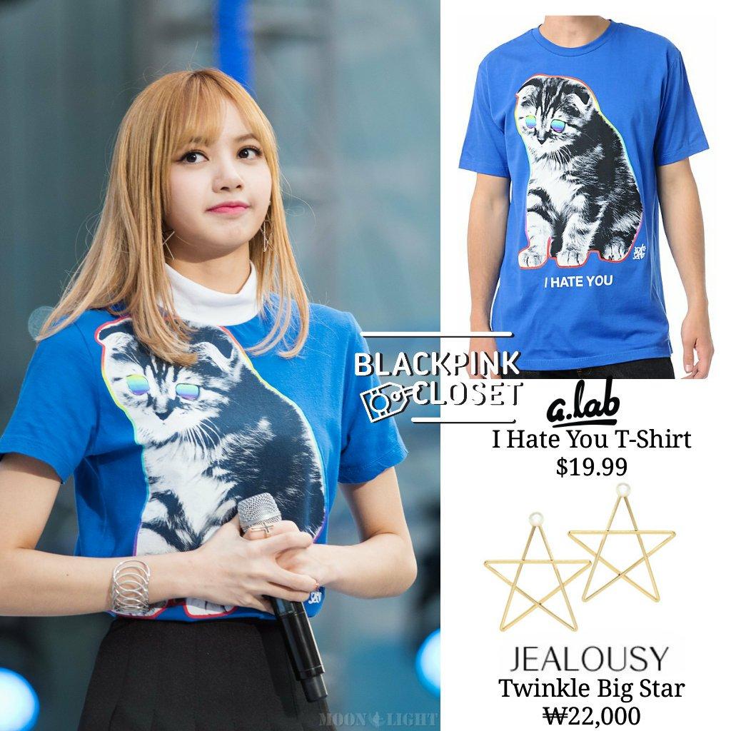 Lisa Blackpink T Shirt