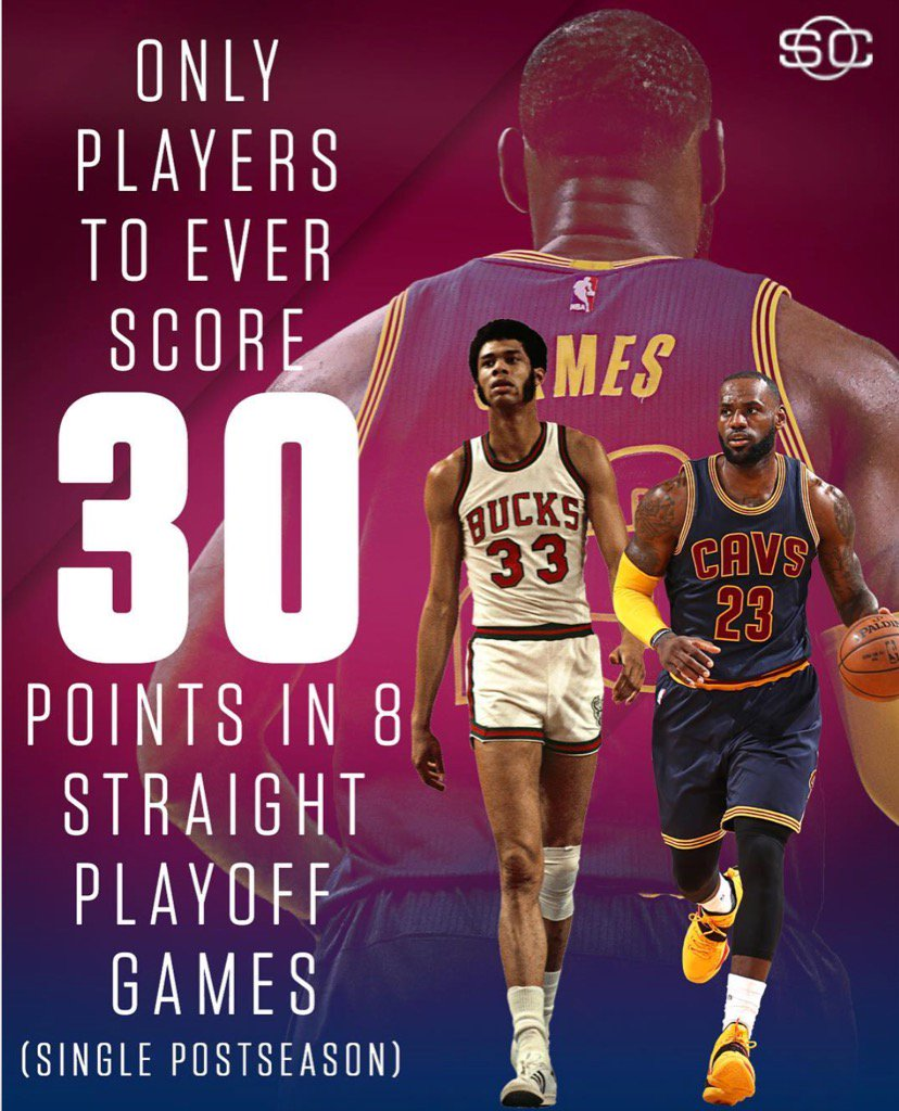 I wanted to say congrats to @KingJames it was a significant achievement @cavs https://t.co/tGp6Oo5568
