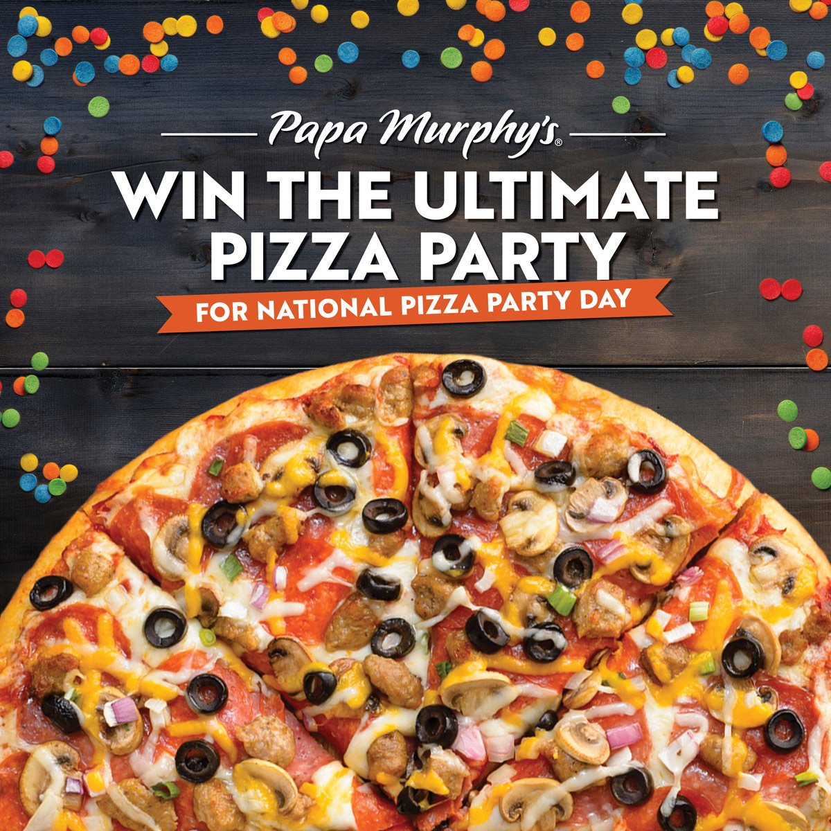 Hours left to win in our #NationalPizzaPartyDay #giveaway! Win the ultimate pizza party pack or gift cards!  http:// bit.ly/2qJMrKX  &nbsp;   #sweeps<br>http://pic.twitter.com/PBvHSfdOkd