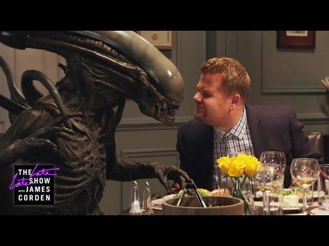VIDEO: James Corden's Girlfriend is an ALIEN #AlienCovenant  #Neomorph  http://www. cbr.com/batman-justice -league-manga-release-date/ &nbsp; … <br>http://pic.twitter.com/9K2o7ZX0V9