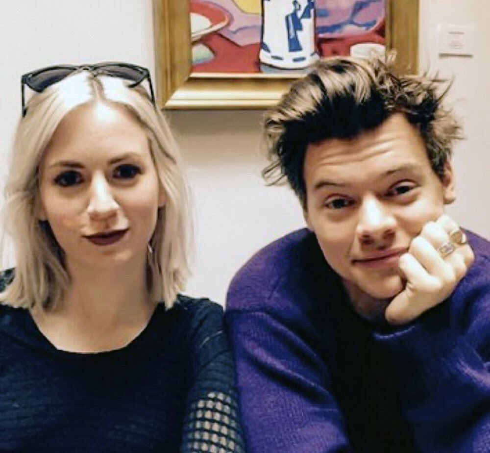 Harry with Gemma recently!!!  #HarryStyles #Harry #Styles #SignOfTheTimes<br>http://pic.twitter.com/oMkY3zpnCi