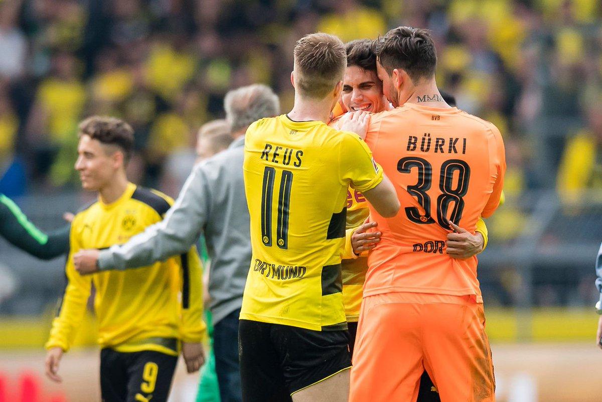 Football is more than just a game. #BorussiaDortmund #MarcoReus #MarcBartra #RomanBürki<br>http://pic.twitter.com/SvCOjC68gr