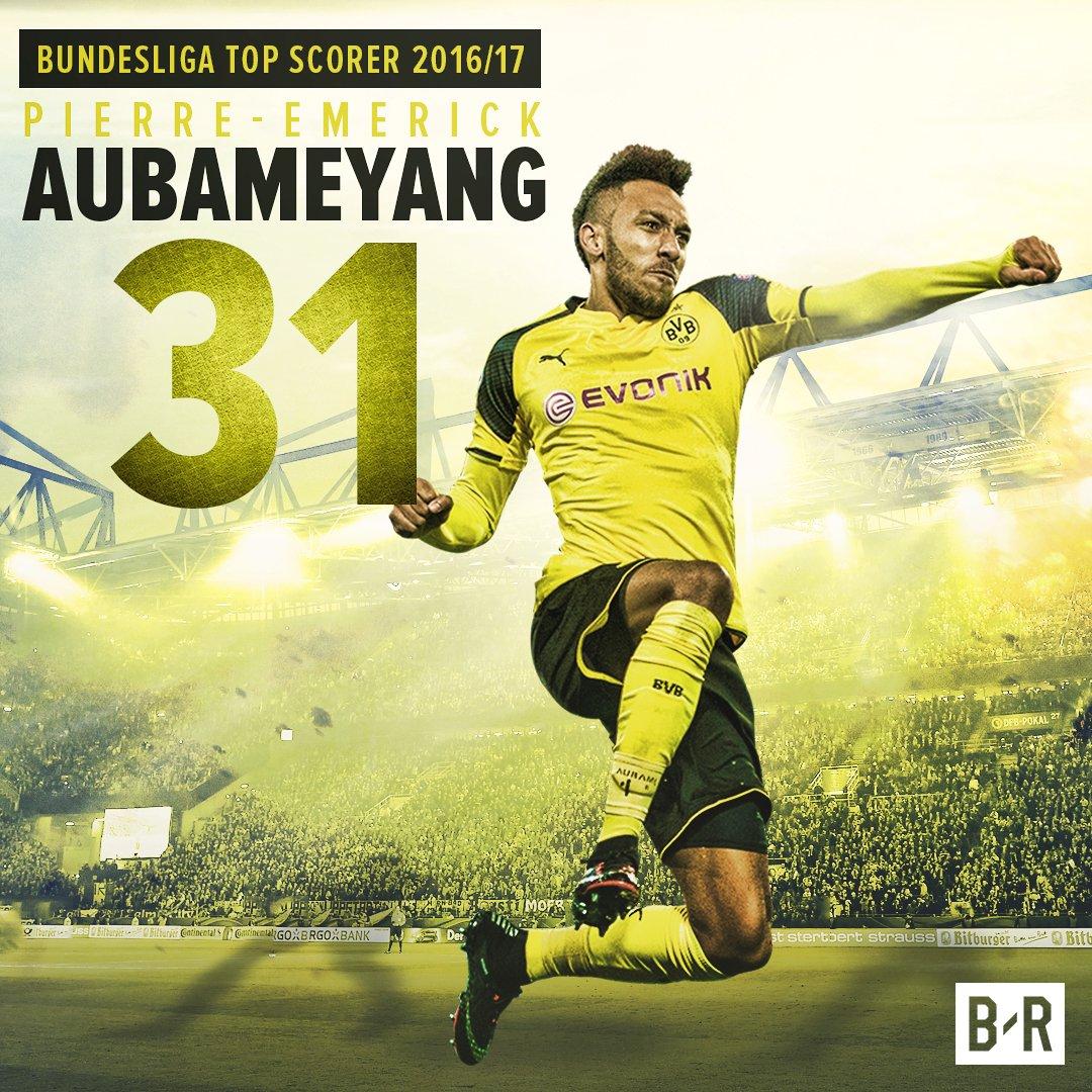Congratulations @Aubameyang7 31 Goals! #BVB #Dortmund #BorussiaDortmund <br>http://pic.twitter.com/QvshBaMSVa