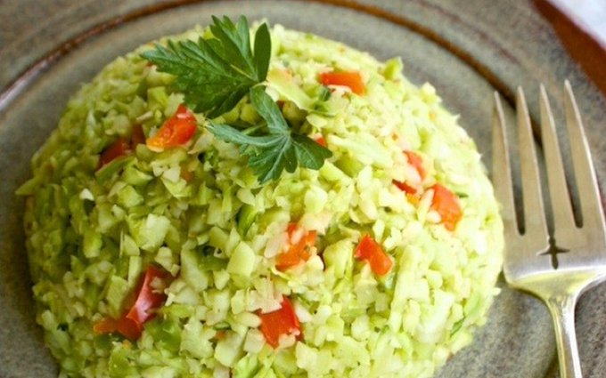 Broccoli Stalk Rice [Vegan, Gluten-Free]