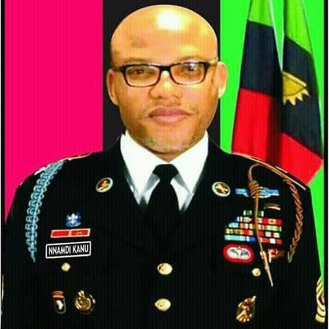 Solders Surrounds Nnamdi Kanu's Home