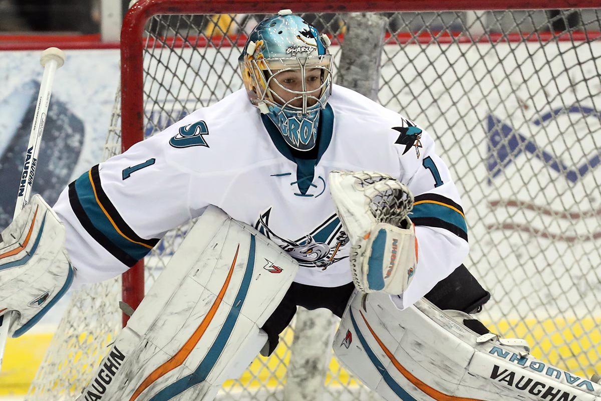 Ahl On Twitter Troy Grosenick Hit Some Road Blocks Between His Nhl Debut And Leading The Sjbarracuda To The Conference Finals Https T Co 8wluxvpnho Https T Co Xe2rfarjla