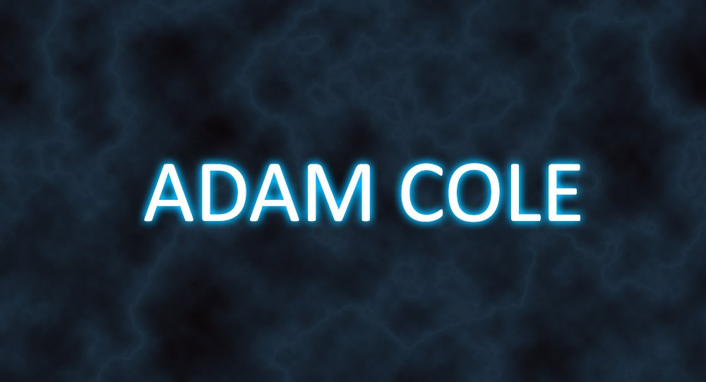 Sneak peak at Adam Cole's NXT Titantron!...