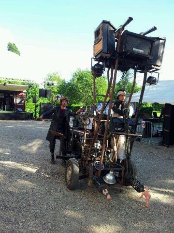 À la Factorie, sur l'Ile du Roy roule un mystérieux Piano Chopper !