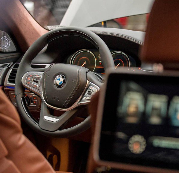 The best view from every seat. The #BMW #7series Sedan. #drivingluxury