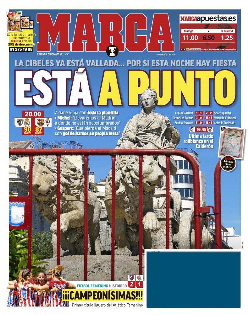 جماهير ريال مدريد تهتف:
