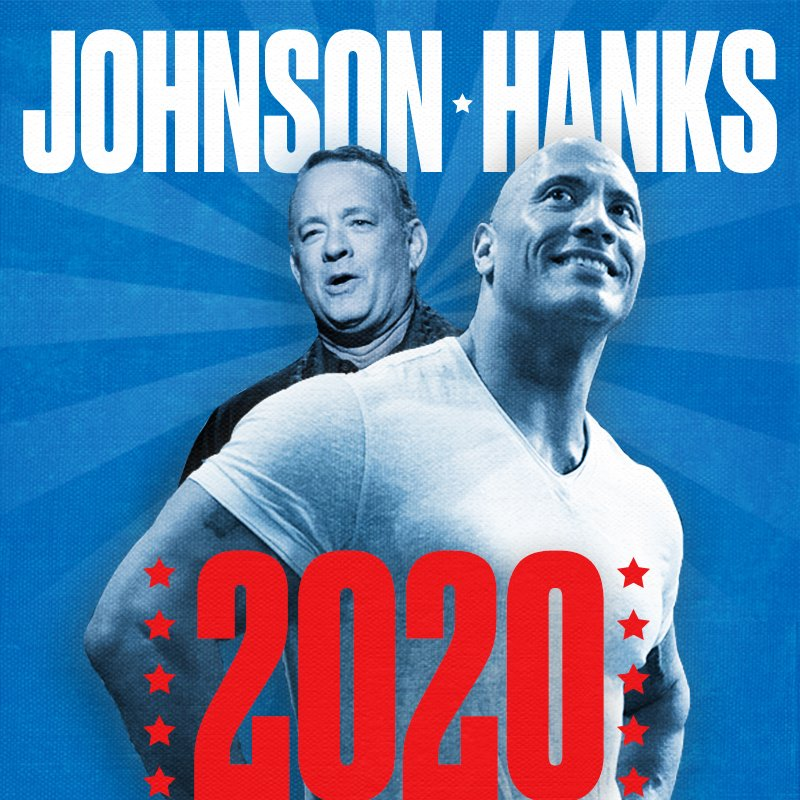 It's really happening. #JohnsonHanks2020 https://t.co/OywA29lUoT #SNLFinale