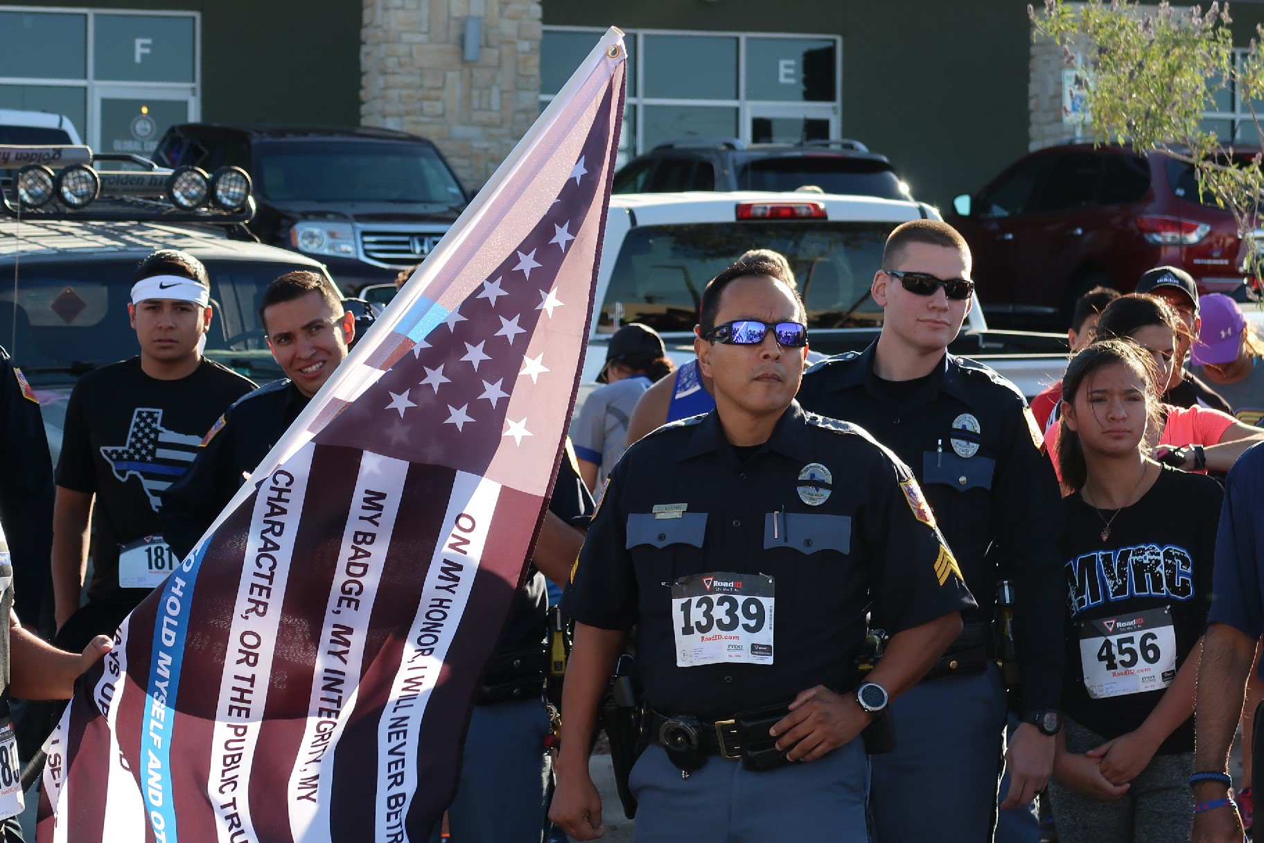 The 4th Annual Police Memorial Run (Officers from Mission Valley Regional Command) Ran In Full Duty Uniform https://t.co/GfhUyeyppF