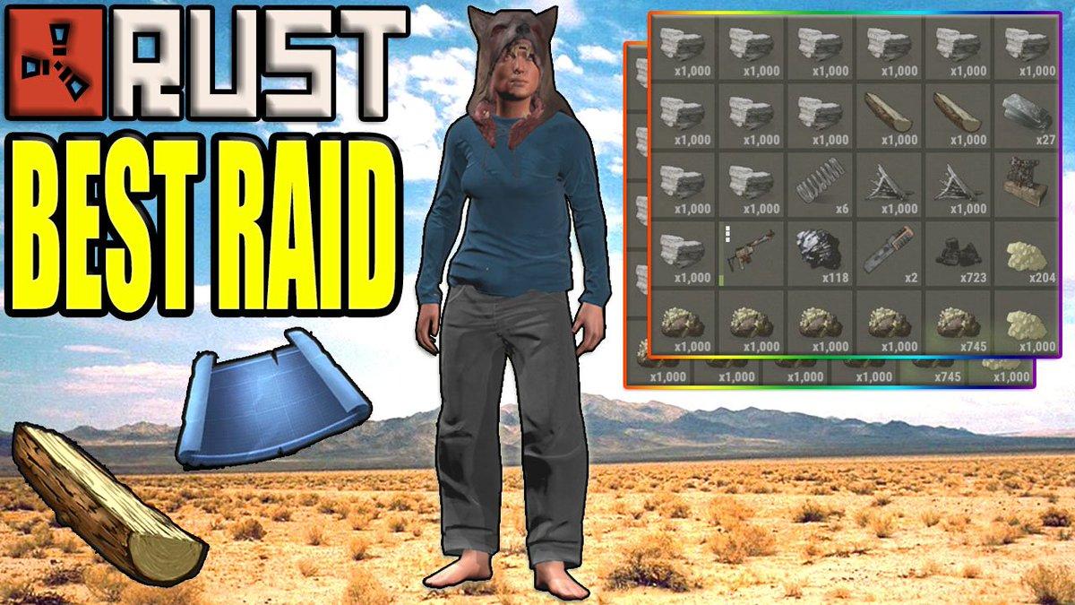 NEW @playrust VIDEO @ 10:00 PM ( 2 HOURS )  Rust: BEST ECO RAID!  #loin #rust #rustlang @mrblankslate @psychoticlemon4 @Shilo8618<br>http://pic.twitter.com/X7je6xxEmC