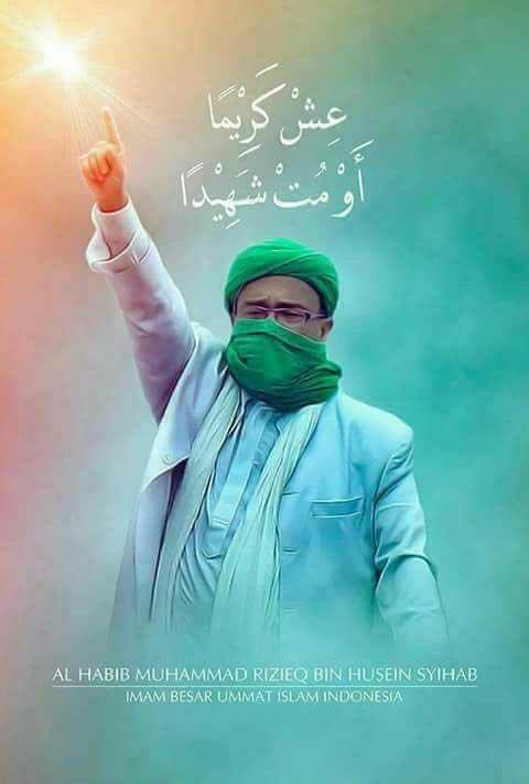 Gambar Habib Rizieq Keren