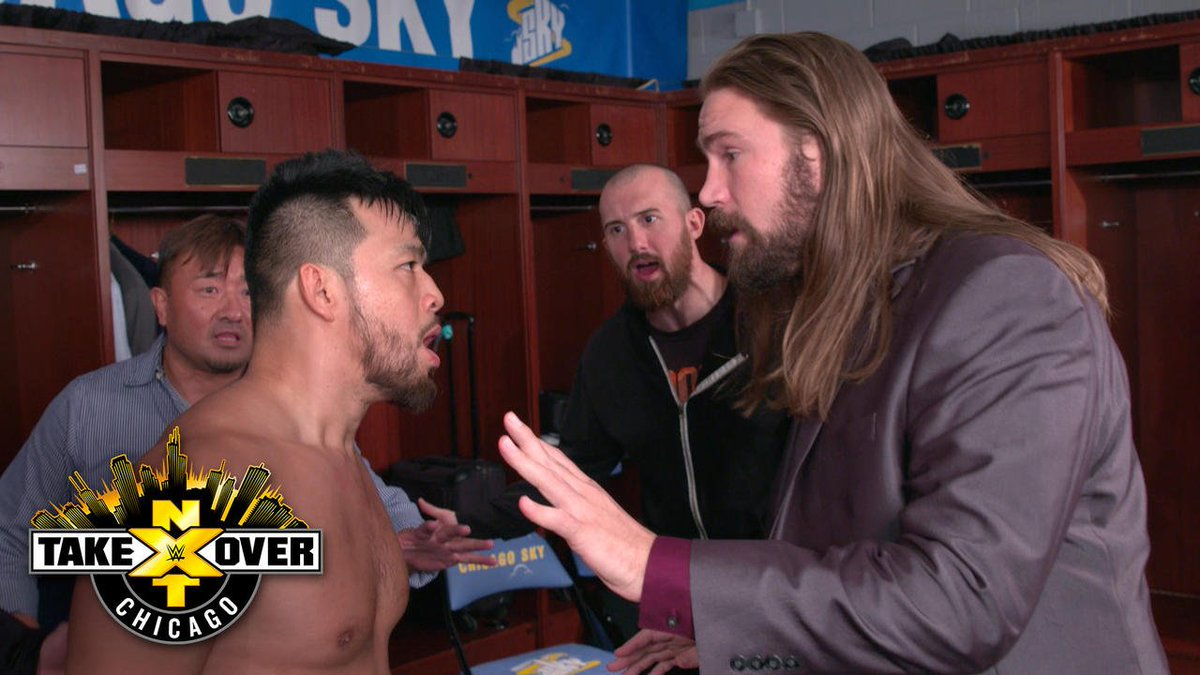 EXCLUSIVE: @HideoItami is FURIOUS after coming up short against @REALBobbyRoode at #NXTTakeOver: Chicago...