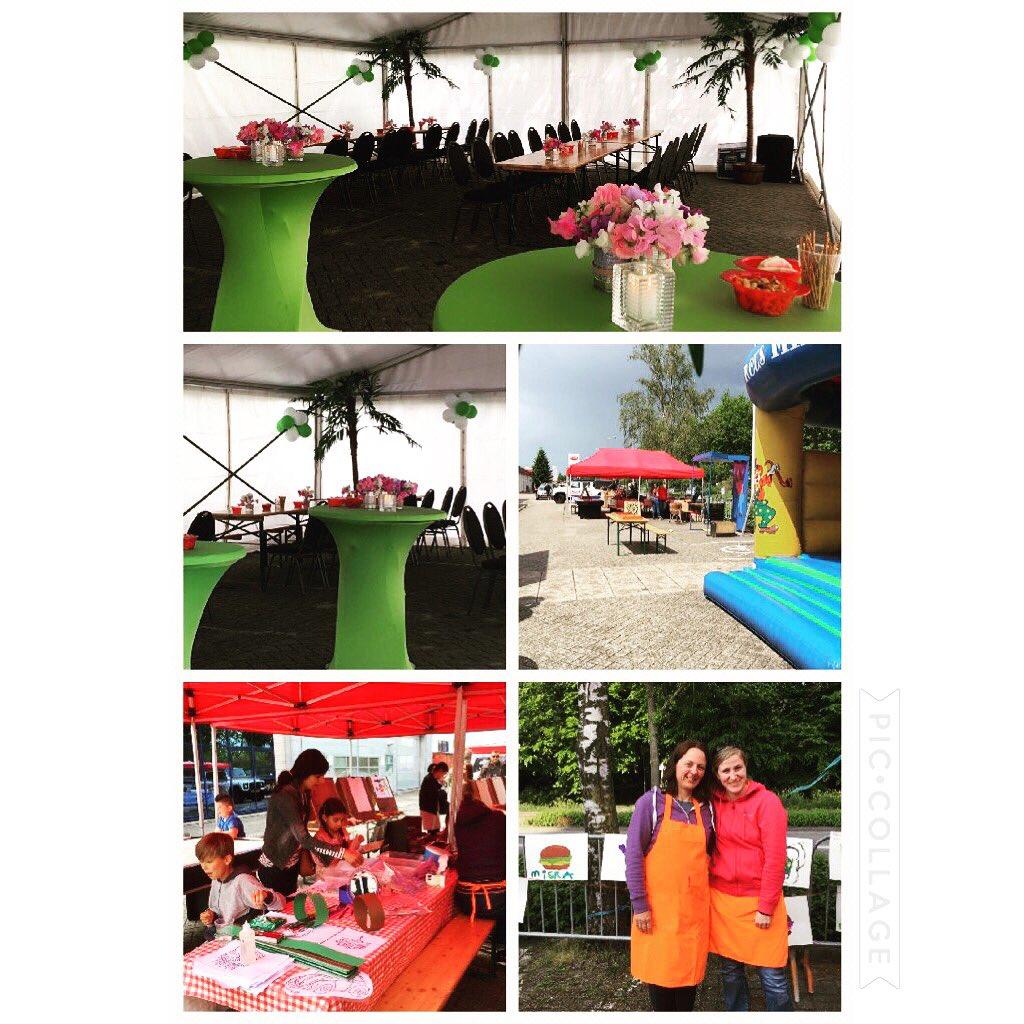 Afgelopen zaterdag n leuk feest mogen verzorgen bij n bedrijf in Alphen #verhuurmaterialen #tenten #catering #kidsvermaak #compleetverzorgd