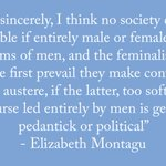 #Quoteoftheday from our female writer of the month, Elizabeth Montagu.  'Pedantick' male discourse is today's mansplaining #WomensWrites