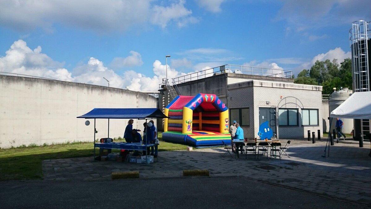 Gisteren Open Dag verzorgd bij Hoogheemraadschap Alphen #catering #tenten# verhuurmaterialen #springkussen