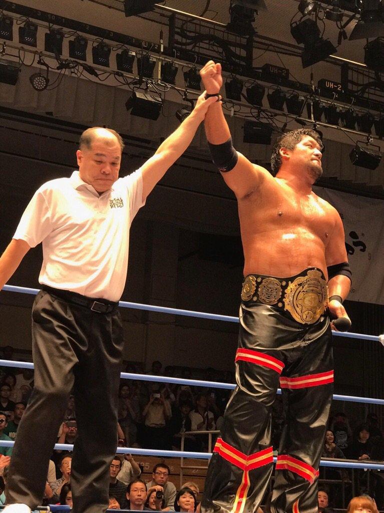 Post image of Смена Чемпиона в AJPW