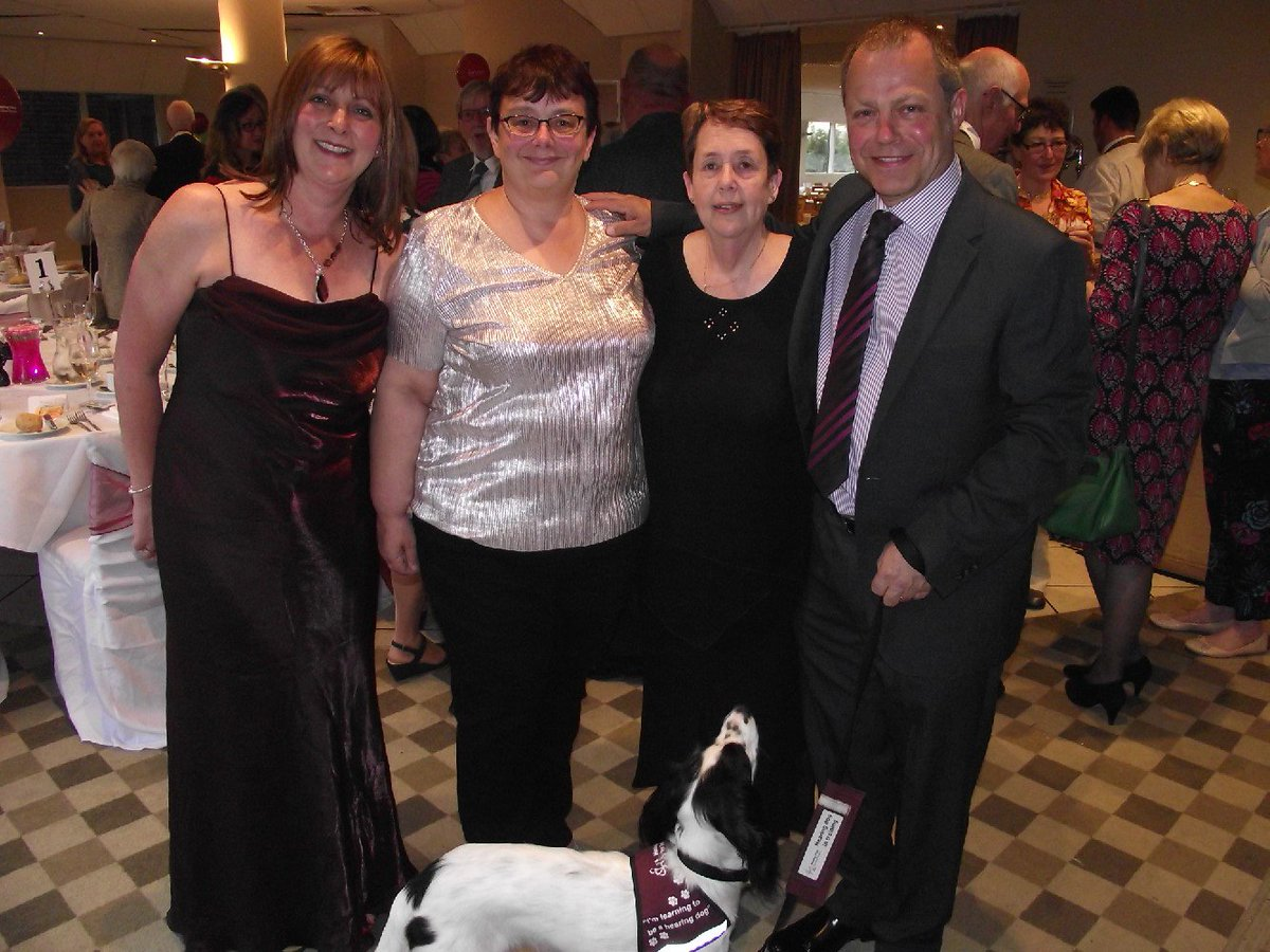 MK Branch @HearingDogs celebrate their 10th Anniversary! Happy Birthday MK! #MiltonKeynes