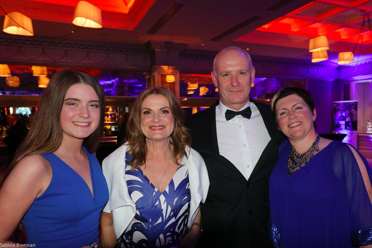 With @claireoconnell @niamhscanlonirl  &amp; PoppaNiamh (what a talented family) at @AmericanChamber Annual dinner #AmChamRIA #Teamovate <br>http://pic.twitter.com/wHbhcVPIXw
