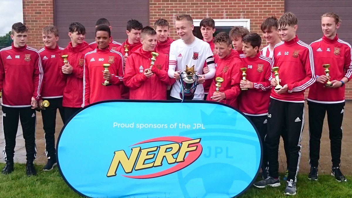 Congratulations to @StourbridgeFCDC on winning the League Champions Day U14s the only double winners this season @adidasUK #neverfollow <br>http://pic.twitter.com/I2E9niegGr