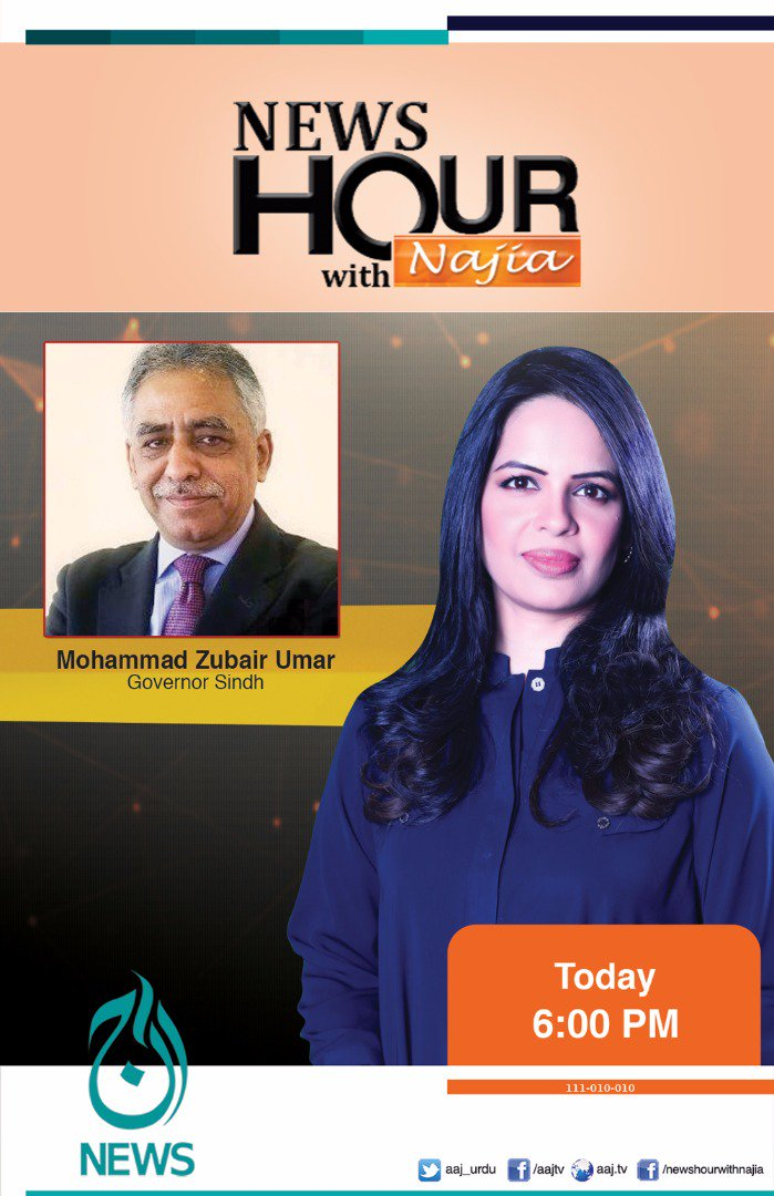 test Twitter Media - Watch Exclusive Interview with #GovernorSindh @news_hour6 , today at 6:pm only @aaj_urdu  @najiaashar  https://t.co/tnEJ5scK16 https://t.co/hR5mRmMPZf