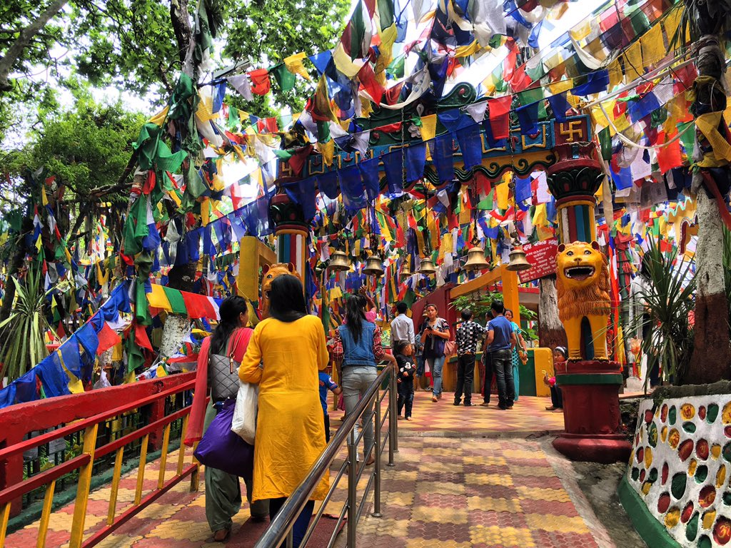 Famous Mahakal temple in Darjeeling