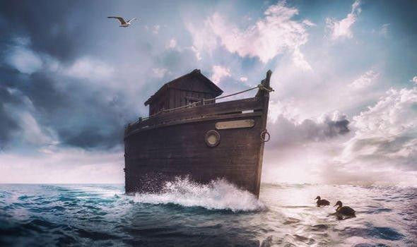 Ark: FOUND…Noah's Ark! Explorers discover HUGE wooden
