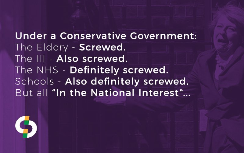 The Conservatives&#39; idea of &#39;The National Interest&#39; is quite worrying... #Election2017 #GE2017  #GeneralElection  #ConservativeManifesto #Marr<br>http://pic.twitter.com/76UShH6c0e