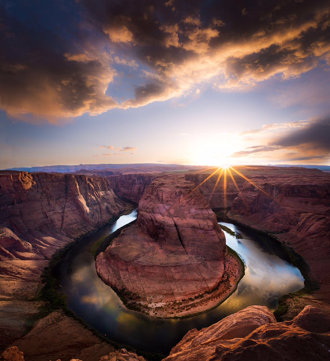 An awe-inspiring natural wonder: Horseshoe Bend in #Arizona by Scott R...