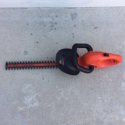 Black and decker Hedge Hog 24 Manual