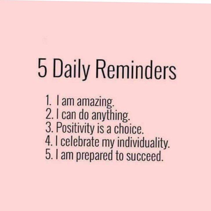 Good morning lazy Sunday start for me Now repeat after me ...... #SundayMorning #Motivation #ThinkBIGSundaywithMarsha #RemindingMe <br>http://pic.twitter.com/ha8EGeluLU