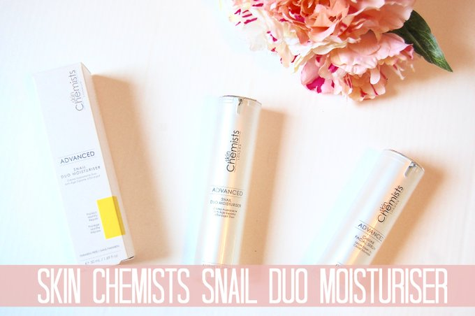 Skin Chemists Advanced Snail Duo Moisturiser
