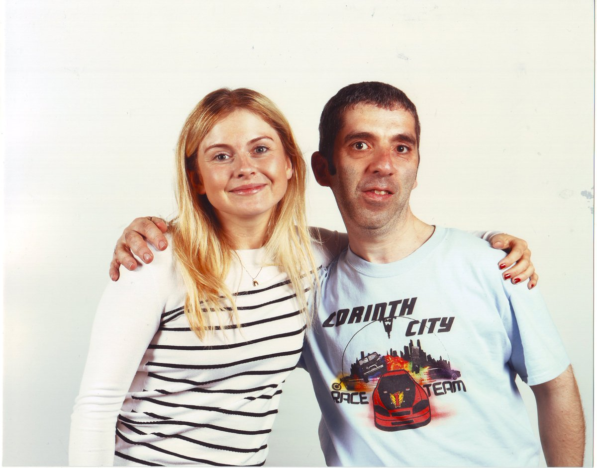 Happy to have met Rose @imrosemciver at Telford Fanzone yesterday https://t.co/ceMHHHg4Ci