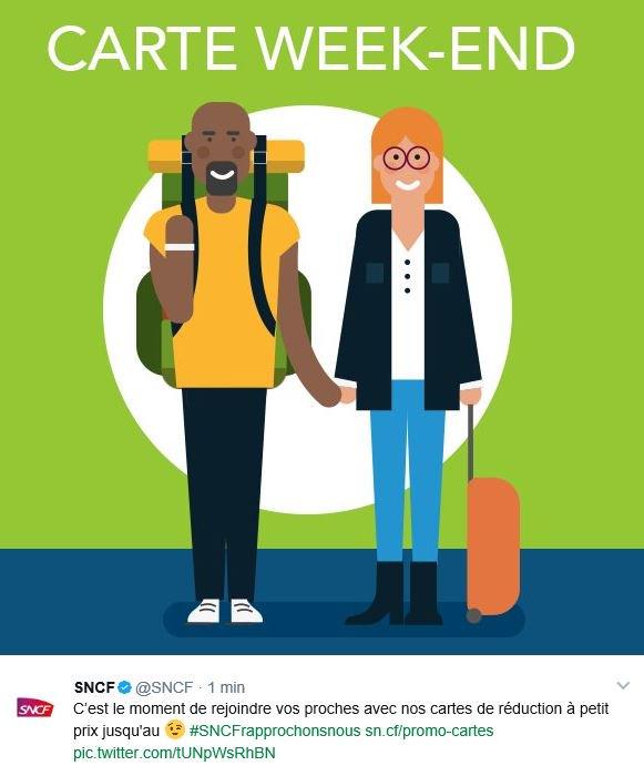 Promotion du #Vivrensemble par la #SNCF : tant qu'à faire, ils ont mis un #barbu !