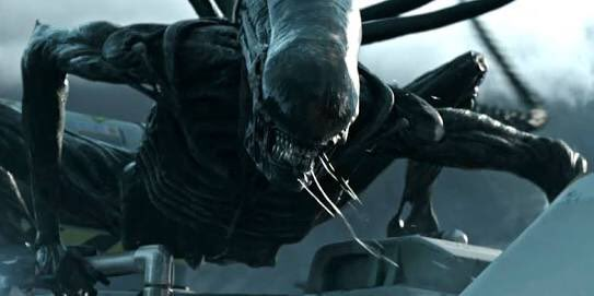 A return to form for Mr Ridley Scott! Alien is back in a BIG way! #AlienCovenant  #xenomorph #neomorph #epic<br>http://pic.twitter.com/gcQNkOHhFK