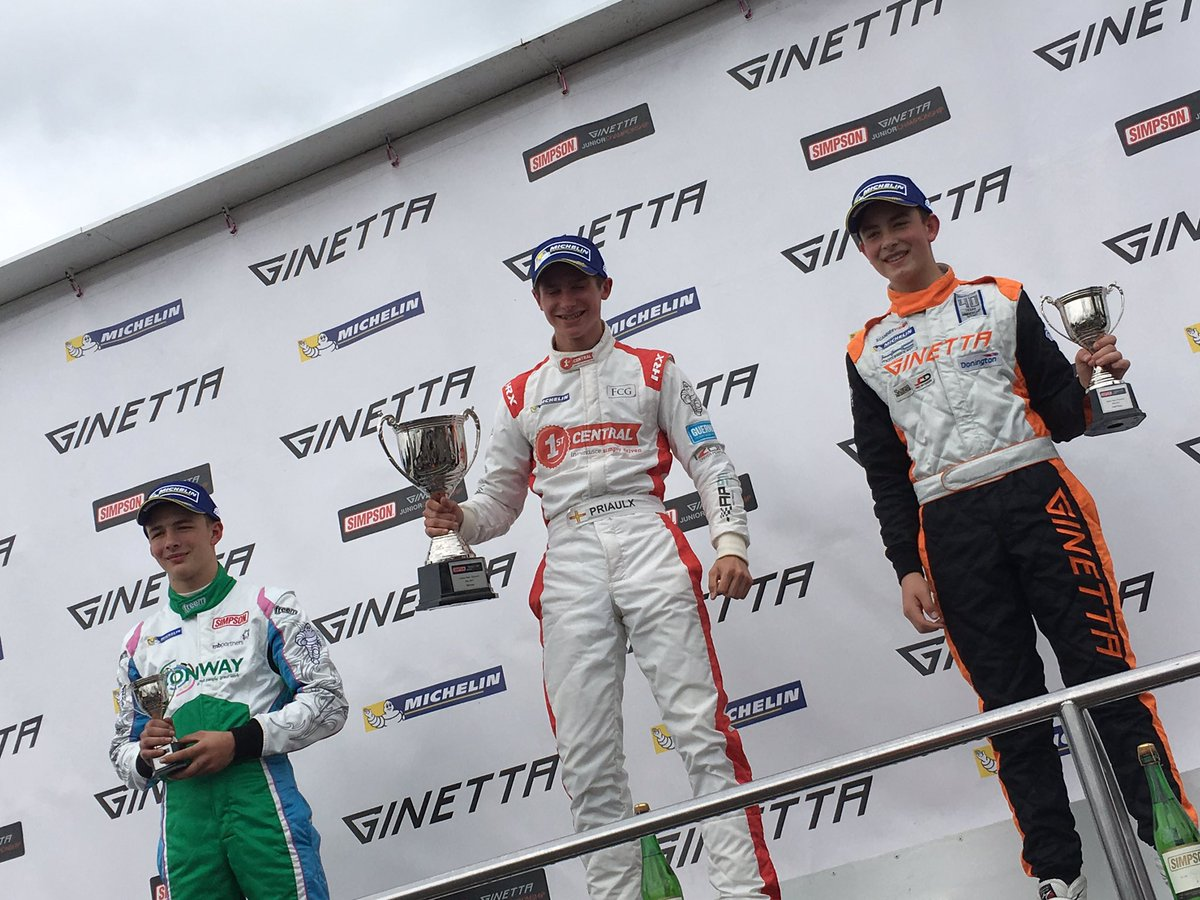 Well done @SebPriaulx Another top drive.