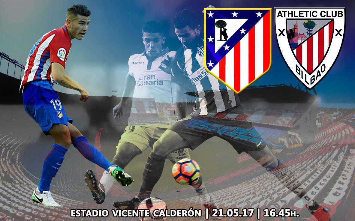 #MatchDay  ¡Aúpa @Atleti!  #LH  #AtletiAthletic #AúpaAtleti #TodosconlaRojiblanca<br>http://pic.twitter.com/elctsNDPgN