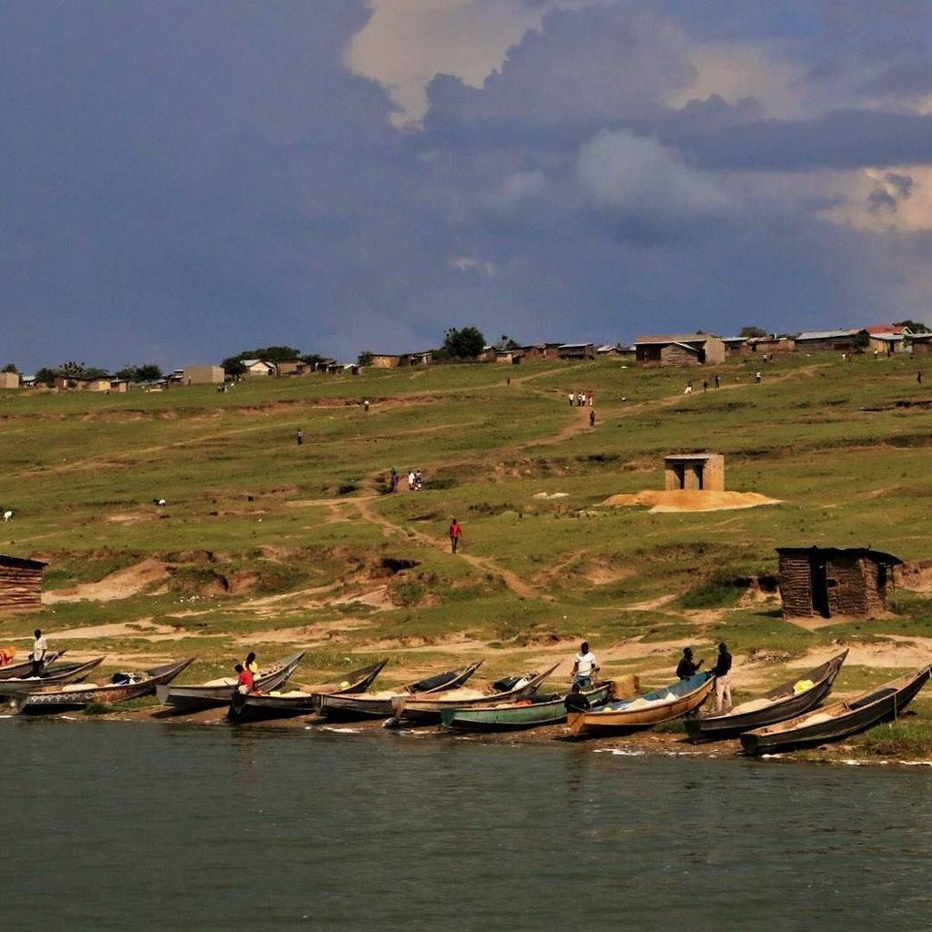 #fishing #village on the #shore of #lake Edward in #queenelizabeth #nationalpark #uganda . . . . #safari #boatride…  http:// ift.tt/2qL1OA1  &nbsp;  <br>http://pic.twitter.com/prpnMHZjKR