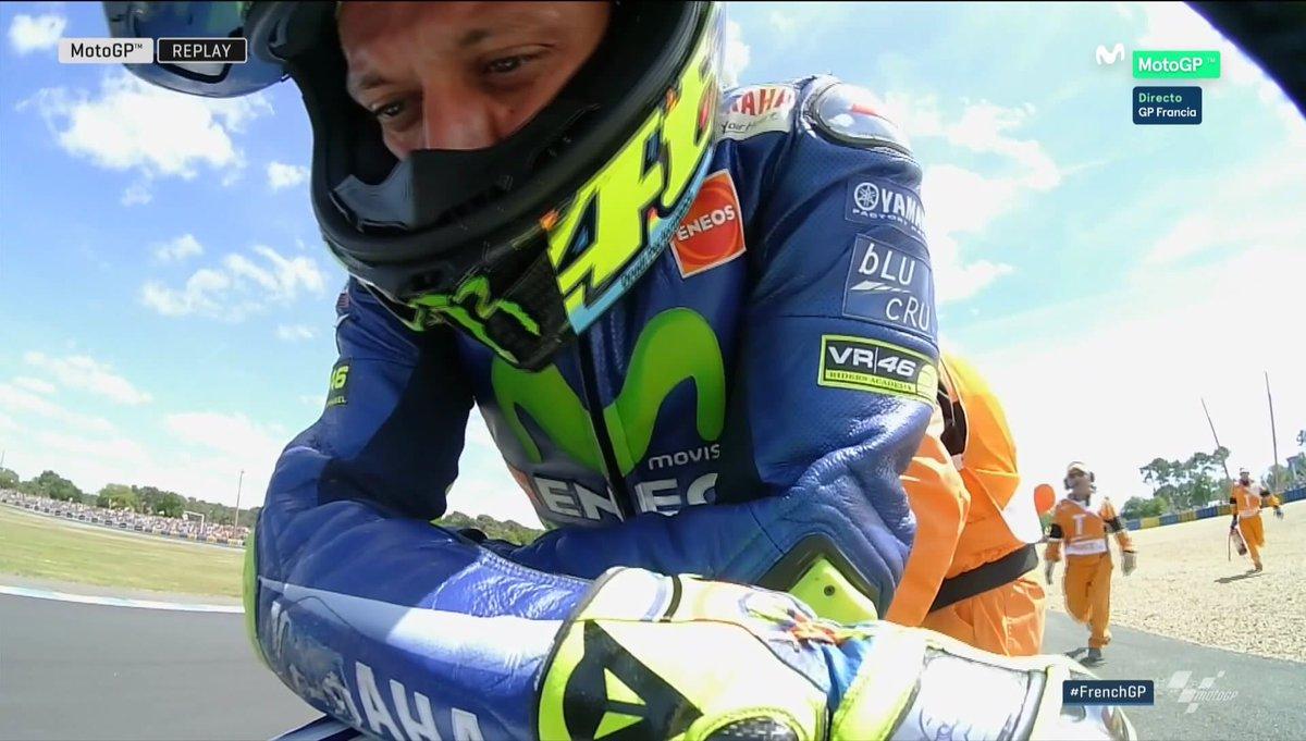 MotoGP: in Francia vince Viñales, Valentino cade alla fine