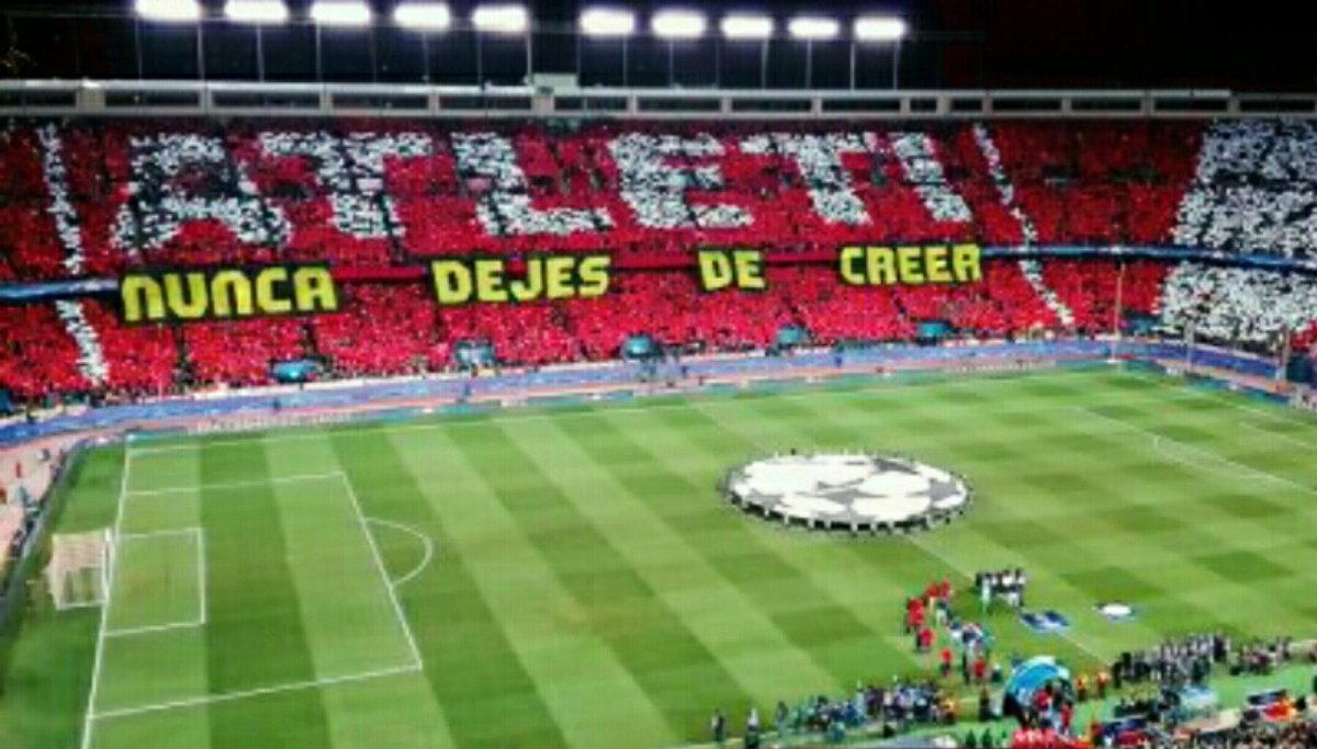 Lucky those who had the chance to experience the emotions of this stadium  #VicenteCalderon #FotosDelCalderon #AupaAtleti <br>http://pic.twitter.com/y2n7ylFCZc