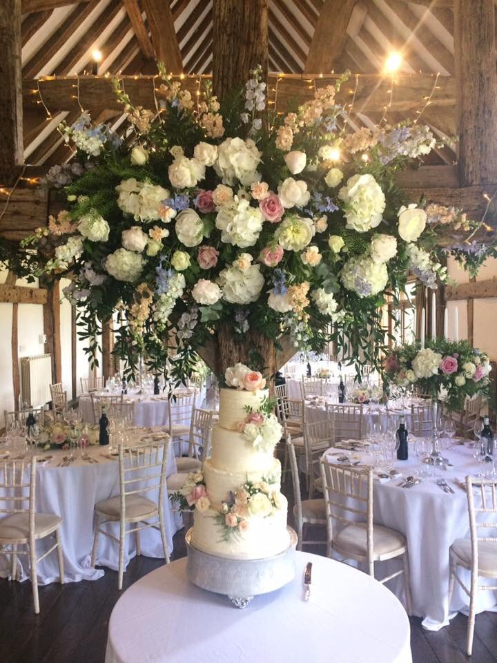 RT @DsnrCakesByElle All set up for a gorgeous couple at fabulous @LoseleyPark ...Thank you @Loseleyevents for being brilliant to work with as always 💕